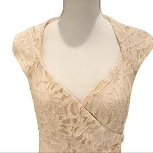 Lauren Ralph Lauren Dresses - Ralph Lauren Lace Dress Fitted Party Wedding